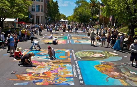 Vibrant Arts scenes